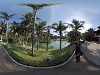 深圳世界之窗湖中岛