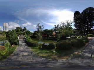 深圳世界之窗幽静湖面