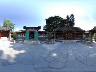 深圳民俗文化村的四合院