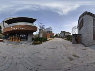 深圳欢乐海岸酒吧全景