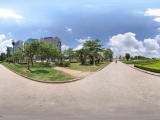 惠州科技馆后景