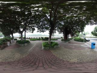 广州二沙岛街景