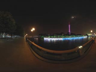 广州珠江夜景小蛮腰风彩