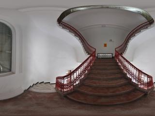 广州博物馆楼梯全景