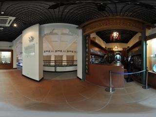 广州博物馆青花瓷全景