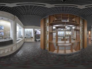 广州博物馆瓷碗展区