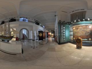 广州博物馆轮船模型