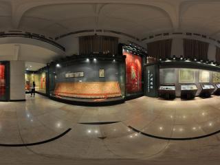 广州博物馆丝织展区