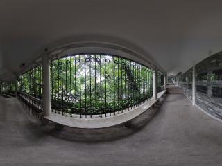 广州博物馆休息长廊