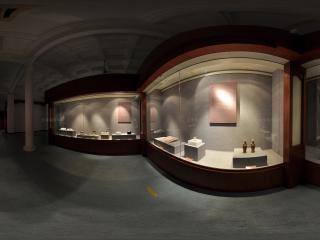 广州博物馆陶俑展示