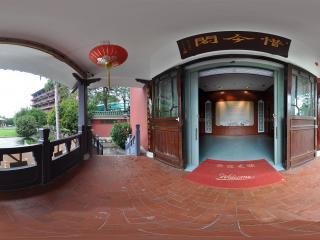 广州博物馆惜今阁门口