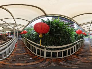 广州博物馆走廊