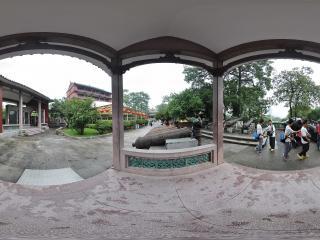 广州博物馆大炮全景