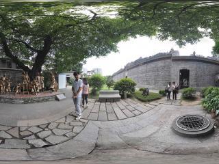 广州陈家祠铜像