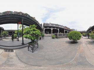 广州陈家祠庭院