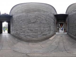 广州陈家祠走廊