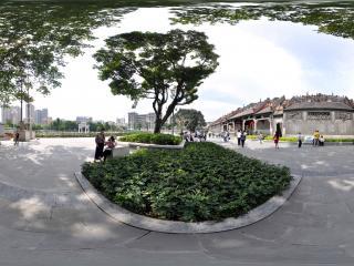 广州陈家祠侧面概览