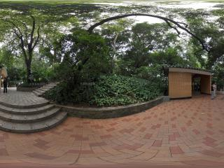 广州越秀公园进入南秀门