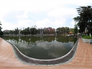 广州暨南大学校内水域