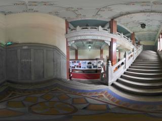 广州中山纪念馆楼梯全景