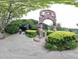 广州云台花园石雕全景