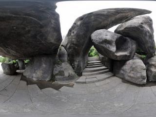 广州云台花园怪石全景