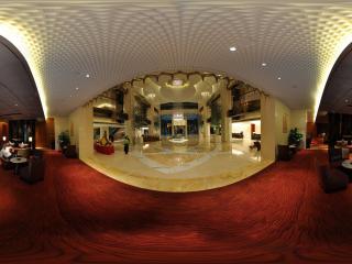 惠州凯宾斯基酒店一楼咖啡厅全景