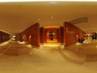 惠州凯宾斯基酒店一楼走廊