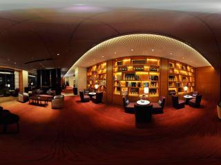 惠州凯宾斯基酒店一楼咖啡厅内部