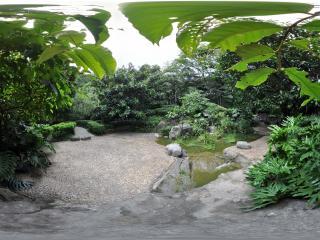 广州云台花园溪水