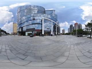 惠州凯宾斯基酒店前的广场
