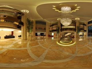 惠州凯宾斯基酒店一楼大厅全景