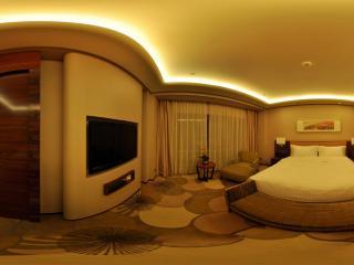 惠州凯宾斯基酒店行政套房卧室