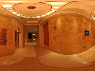 惠州凯宾斯基酒店一楼电梯间全景
