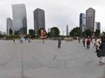 广州中轴线广场全景