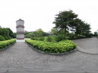 广州岭南印象园古塔
