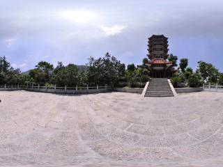 深圳仙湖植物园中的塔