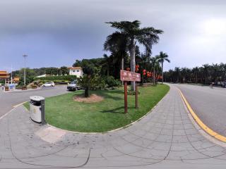 深圳仙湖植物园入口街道
