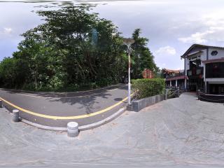 深圳仙湖植物园临湖观景楼