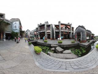 广州岭南印象园复古街道