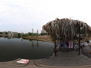 广州岭南印象园水车