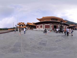 深圳仙湖植物园弘法寺大雄宝殿