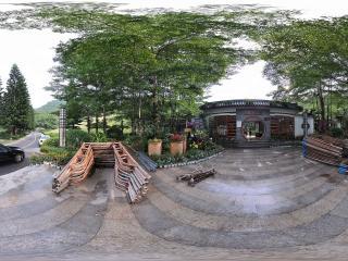 深圳仙湖植物园街边茶馆