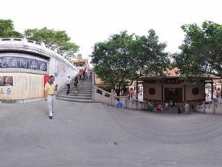 深圳仙湖植物园弘法寺韦驮殿