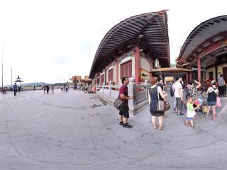 深圳仙湖植物园弘法寺观音殿