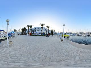 苏塞港口 突尼斯全景