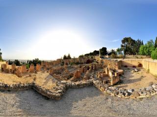突尼斯迦太基考古遗址公园全景