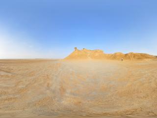 突尼斯 撒哈拉沙漠全景