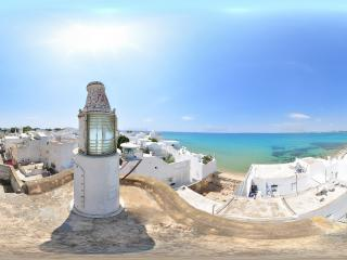哈马马特渔港 突尼斯全景
