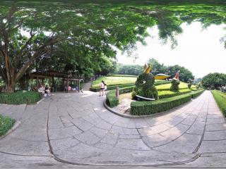 深圳欢乐谷的园艺设计